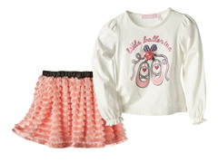Top & Skirt Set- Little Ballerina (4-6X)