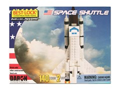 140-Piece Space Shuttle Construction Toy