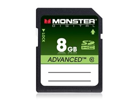 Monster Advanced Class 10 FullSize SD Cards