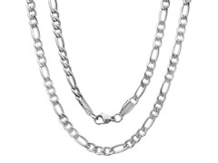 "24"" Figaro Necklace Chain"
