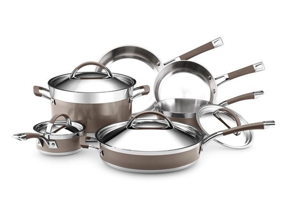 Kitchenaid 10 Piece Cookware Set