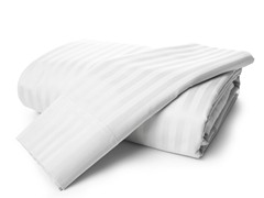 800TC Egyptian Cotton- White Stripe-King