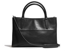 Coach Napanil Soft Borough Bag, Black