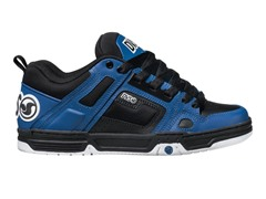 DVS Comanche Skate - Black/Blue Leather