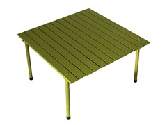 Low Wood Portable Table, Green