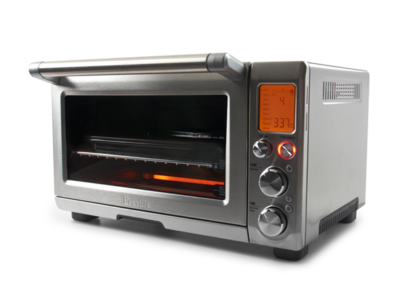 lcd screen glows orange after pushing the start button - Breville Oven