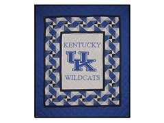 Kentucky Quilted Throw