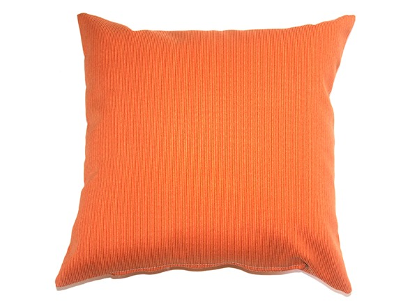 Throw Pillow Two Pack : 16-Inch Throw Pillow, 2-Pack - Orange