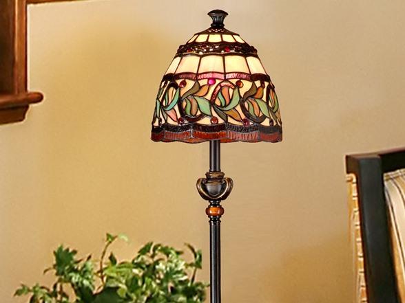 dale tiffany aldridge buffet lamp home kitchen. Black Bedroom Furniture Sets. Home Design Ideas