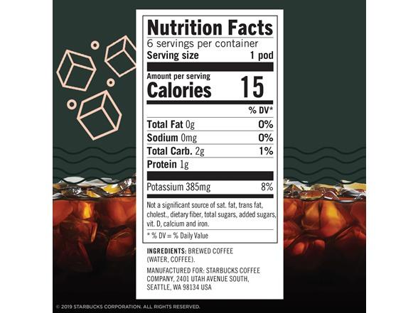 Starbucks Cold Brew Single Serve, 36ct