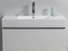"39"" Zuri: Single Sink Bathroom Vanity- White"