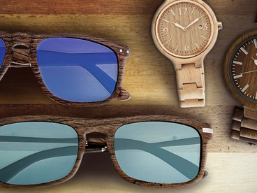 Earthwood Unisex Sunglasses and Watches