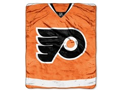 Philadelphia Flyers Raschel Throw