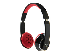 Bluetooth Headphones - Black/Red