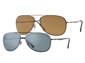 Ray-Ban Titanium Frame Tech Lite Sunglasses- 5 Choices