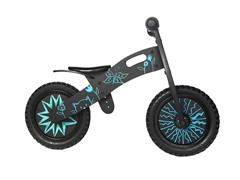 Smart Gear Graffiti Balance Bike - Black