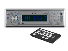 AM/FM Marine In-Dash Detachable Face Radio