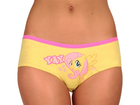 My little pony hipster panty 3 pack