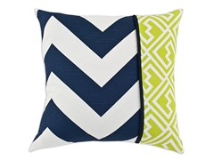 Zippy Navy Stripe 17x17 Pillows-S/2