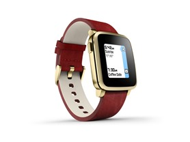 Pebble Time Steel Smartwatch for iOS & Android