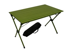 Tall Aluminum Portable Table, Green