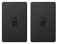 Lutron 3-Way Dimmer 2-Pack, Black