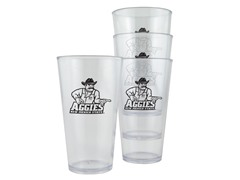 New Mexico Plastic Pint Glasses 4-Pk