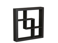 "Madison 16"" Display Shelf Black"