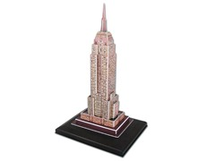 Empire State Building 3D Puzzle w/Lights