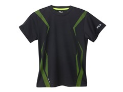 Boys Screened Athletic Tee - Rich Black