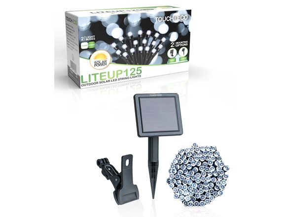 Image of Liteup 125 Solar Led String Lights