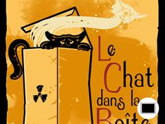 Le Chat dans la Boite Poster