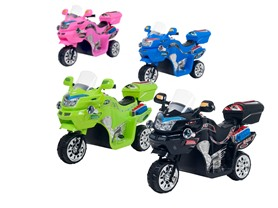 3-Wheel Sporty Motorcycles- 8 Colors!