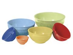 Oggi 6-Piece Mixing Bowl Set