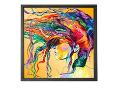 Linzi Lynn Windswept Framed Canvas Art