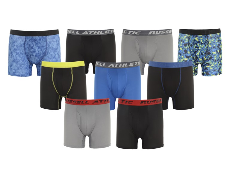 6-Pack Russel Athletic Men's Performance Boxer Briefs