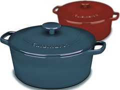 Cuisinart 7-Qt. Cast Iron Casserole - 2 Colors