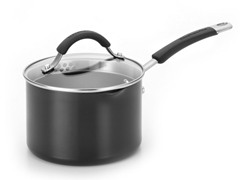 KitchenAid 2 Qt Staining Sauce Pan Black