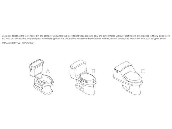 Biobidet Ultimate 770 Smart Bidet Toilet Seat