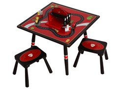 Firefighter Table & Stools