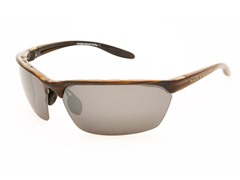 Native Polarized Sunglasses, Reflex/Wood