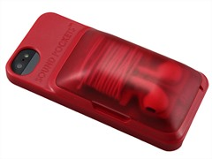 iPhone 5/5S Case with Headphone Storage