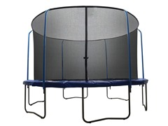 "15Ft ""SKYTRIC"" Trampoline w/Top Ring Enclosure System"