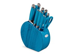 Fiesta 11-Pc. Cutlery Set - Peacock