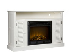 Antebellum Media Electric Fireplace