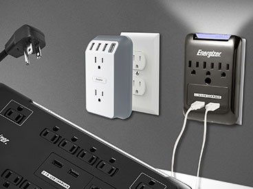 Energizer Surge Protectors & Chargers