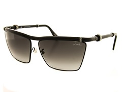 Women's Square Crystal Accent Sunglasses