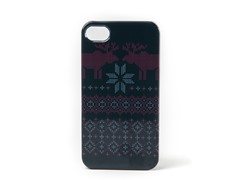 Ugly Holiday Sweater 2009 iPhone Case