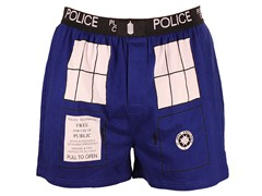 Doctor Who TARDIS Boxer