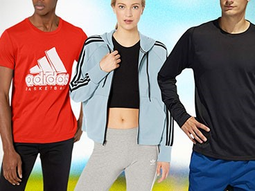 adidas Men's and Women's Apparel